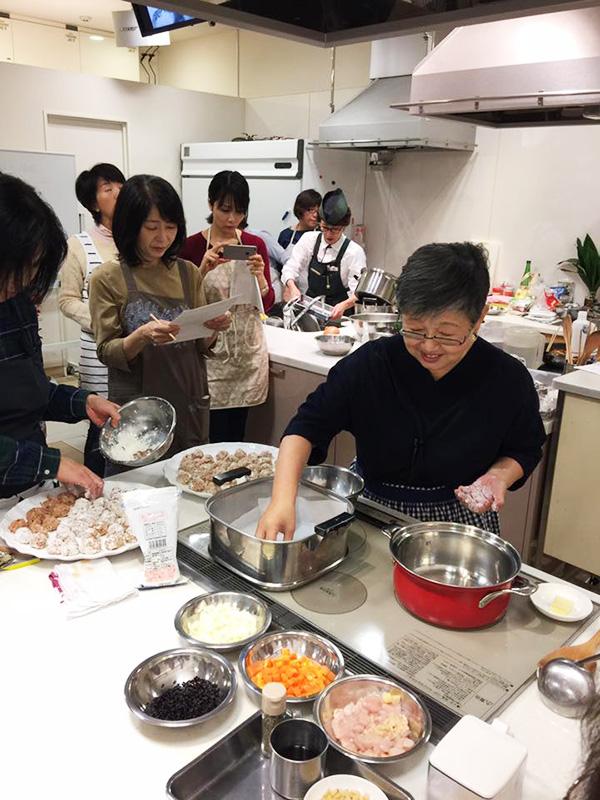 博多阪急で山際千津恵先生の料理教室が開催されました♪2