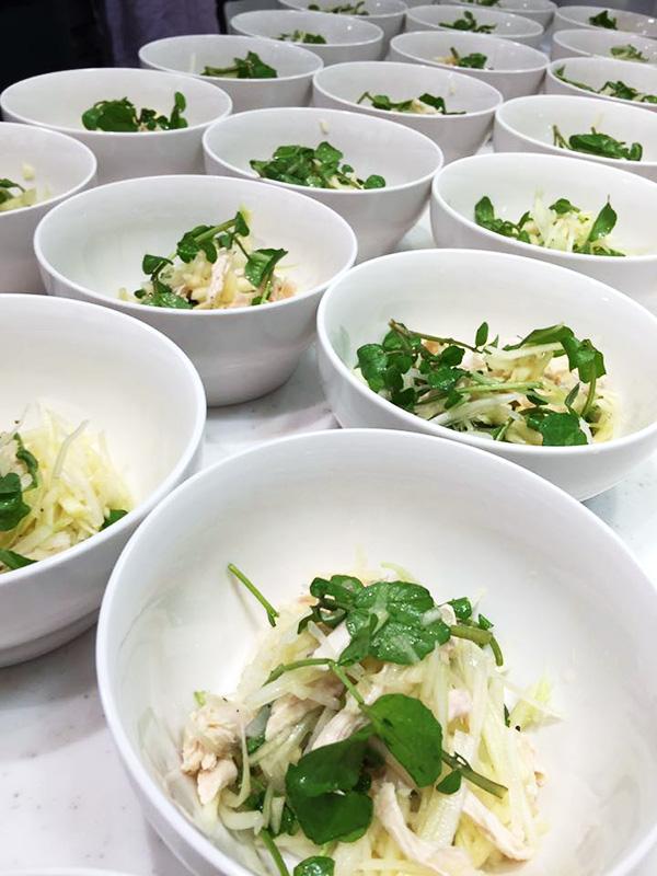 1月11日に博多阪急にて、山際千津枝さまによる 「はかた地どり」料理教室が開催されました!6