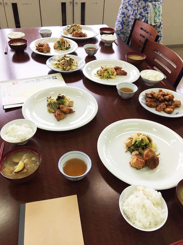 筑紫野市文化講座、舩越舞先生の料理教室3