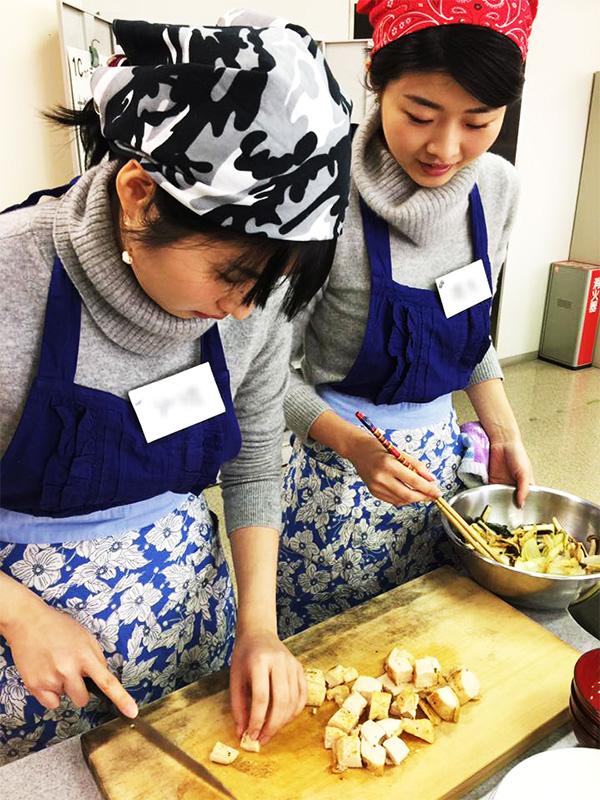 筑紫野市文化講座、舩越舞先生の料理教室4
