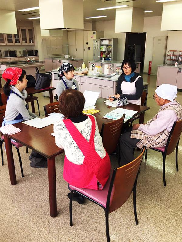 筑紫野市文化講座、舩越舞先生の料理教室8