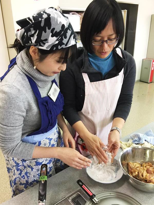 筑紫野市文化講座、舩越舞先生の料理教室9