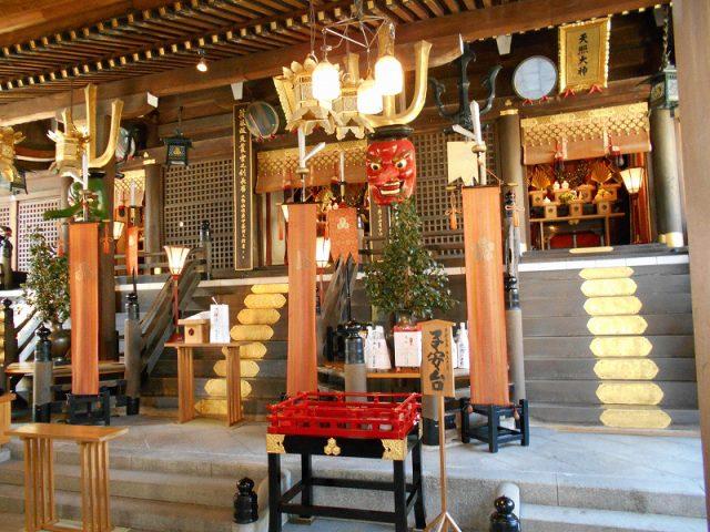 櫛田神社に『はかた地どり』を奉納いたしました01