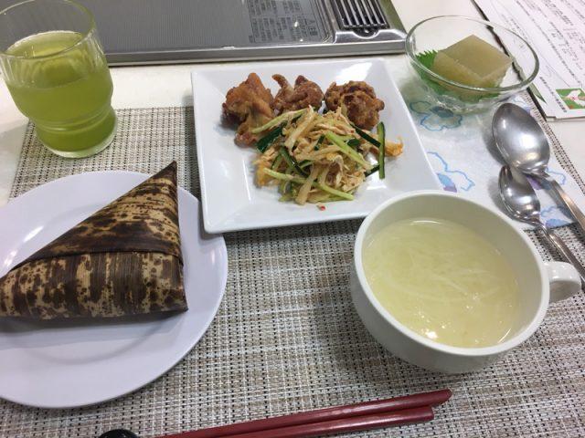 博多阪急百貨店にて「はかた地どり」の料理教室が開催されました1